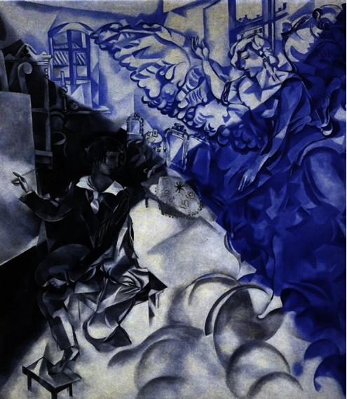 19 Apparition 1918- Verschijning – Annunciatie – maar dan ... Chagall Doesburg